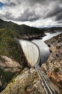 Gordon Dam Australia