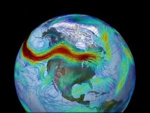 zonal polar jet stream