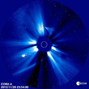Comet ISON STEREO solar pass