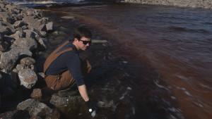 Dobkowski sampling brown water